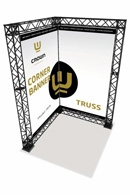 Crown Truss Corner Banner