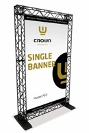 Crown-Truss Single Banner