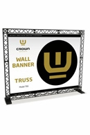 Crown Truss Wall Banner