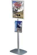 Mini Multi Standere med plakatkramme og A4 brochureholder