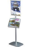 Mini Multi Standere med A3 brochureholder og plakatramme