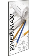 Maxiframe River banner ramme - 15mm